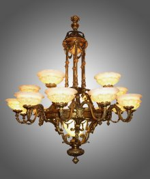 Alabaster chandeliers aloadofball Image collections