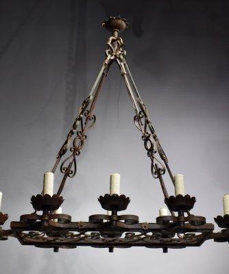 French iron chandelier lighting maurice chandelier lighting aloadofball Gallery